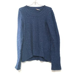 Free People | Chunky Knit Wool Blend Sweater